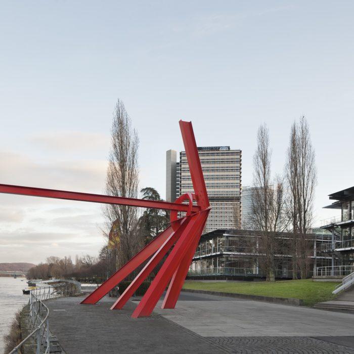 DEU, Bonn, 12/2011, De Suevo Skulptur, Conference Center Manegement, ehem. Plenarsaal, Künstler: De Suevo, Auftraggeber: BBR Berlin, Bildtechnik: KB-Digital