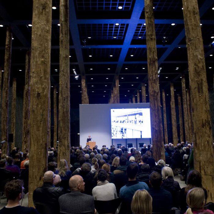 Veranstaltung zum Bauvorhaben Neue Nationalgalerie